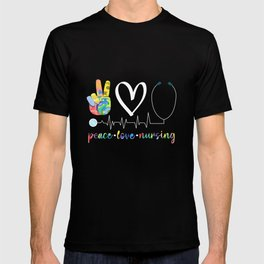 Love Nurse profession Medical Health Care Worker T-shirt