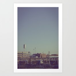 Durham Station Art Print