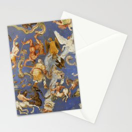 Fresco of the Villa Farnese, Lazio, Italy Stationery Cards