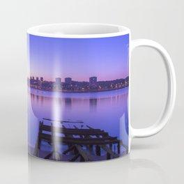 Twilight sky over Porto Coffee Mug