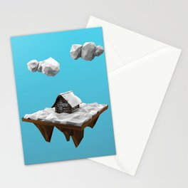 lowpoly winter Stationery Cards