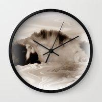jasmine Wall Clocks featuring Jasmine by Shalisa Photography