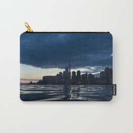 Cloudy Toronto Carry-All Pouch