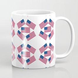 american flag 6-Usa,america,us,stars and strips, patriotic,patriot,united states,american,spangled Coffee Mug