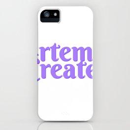 Artemis Creates Main Logo iPhone Case