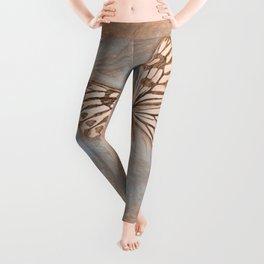 Pastel Butterfly Leggings