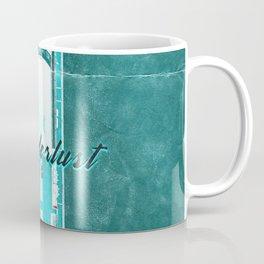 Nautical Marine Wanderlust Typography Retro Coffee Mug