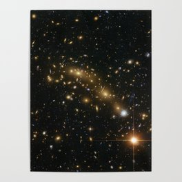 Space Stars Poster