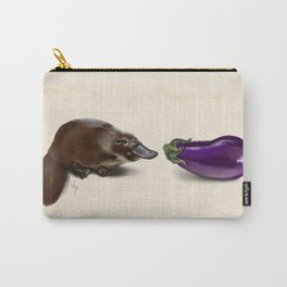 Platypus Makes a Friend Carry-All Pouch