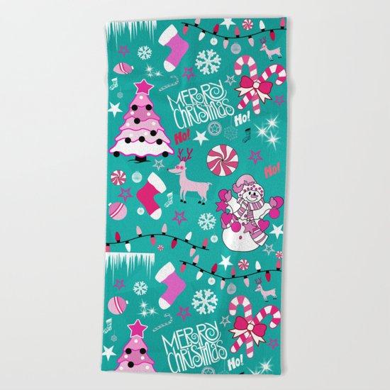 Christmas  Beach Towel