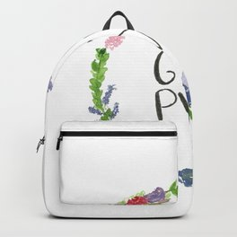 GRL PWR flowers Backpack