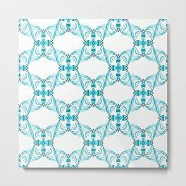 Sea Bee Honeycombs... Metal Print