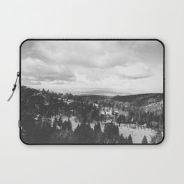 Mountains and Desert view Laptop Sleeve