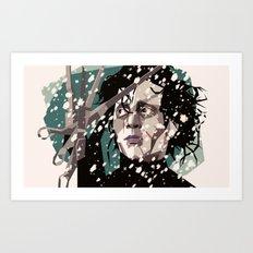 Handy man Art Print