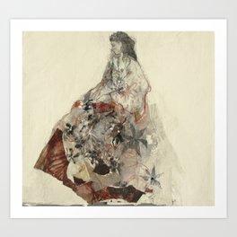 Hommage à Botticelli VIII Art Print