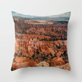 Canyon canyon Throw Pillow