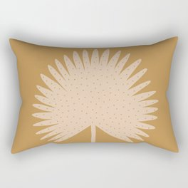 Palm Leaf Rectangular Pillow