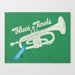 blues n roots Canvas Print
