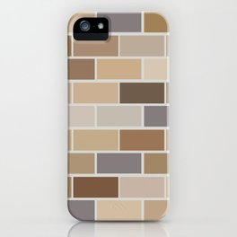 Kinda Brickish iPhone Case