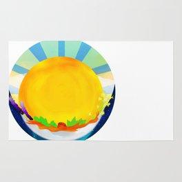 Wheel Series : Summer Solstice Medallion Rug