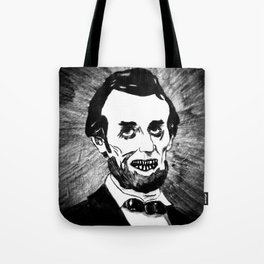 16. Zombie Abraham Lincoln  Tote Bag