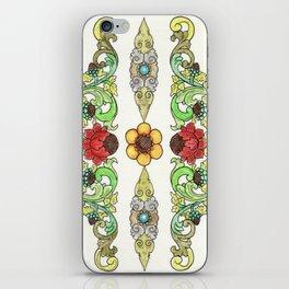 Bordered iPhone Skin