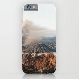 Volcano landscape iPhone Case
