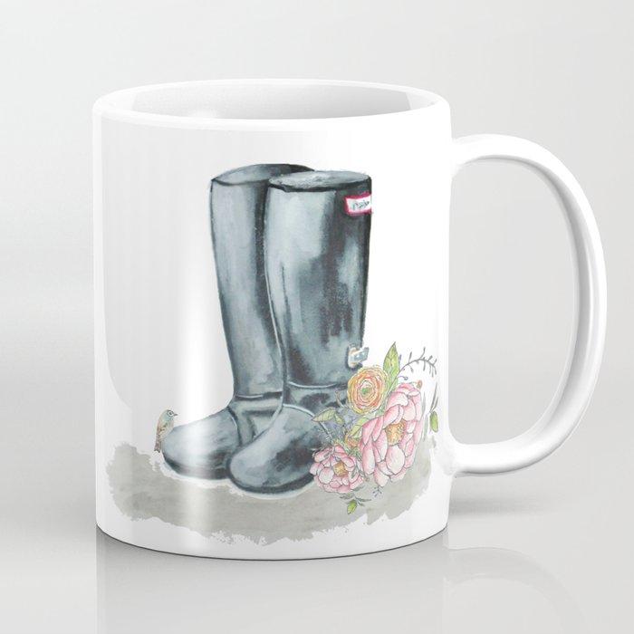 Spring Rain Boots Coffee Mug