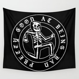 Pretty Good At Being Bad Wall Tapestry