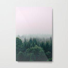Fog Degradation Metal Print