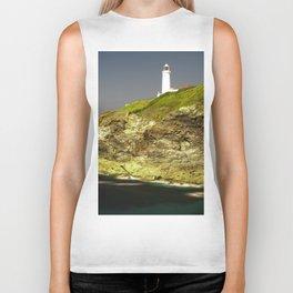 Trevose Head Lighthouse, Cornwall, United Kingdom Biker Tank