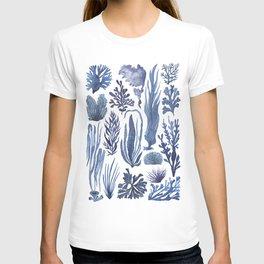 Blue Seaweeds T-shirt