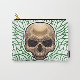 Half Skull Carry-All Pouch