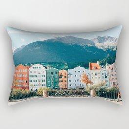Crayola Houses   Innsbruck, Austria Rectangular Pillow