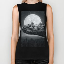 Echoes of a Lullaby Biker Tank
