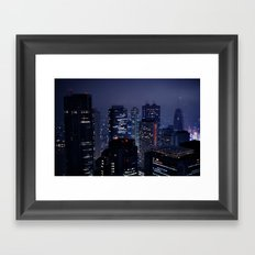 Lost in Translation - Tokyo Blues (II) Framed Art Print