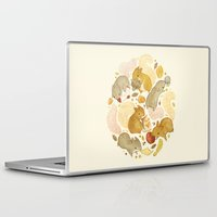 totes Laptop & iPad Skins featuring Things Squirrels Probably Shouldn't Be Eating by Teagan White