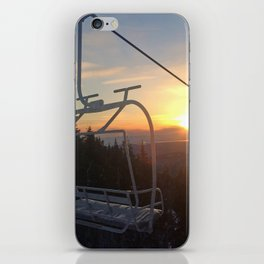 Last Chair of the Day iPhone Skin