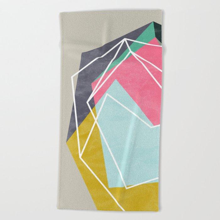 Fill & Stroke Beach Towel