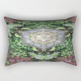 The Spring Butterfly Rectangular Pillow