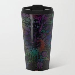 Coloring Spatter Travel Mug