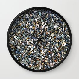 Beach Pebbles Wall Clock