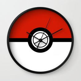 Catch 'Em All Wall Clock