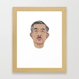 Drunk with Power: Hirohito Framed Art Print