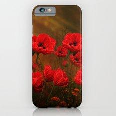 Poppy Love Slim Case iPhone 6s