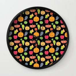 KAWAII FRUIT Wall Clock