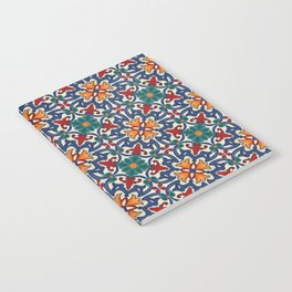 Colorful Azulejos Pattern Notebook