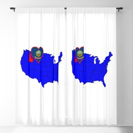 State of Idaho Blackout Curtain