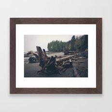 Drift Tree Framed Art Print