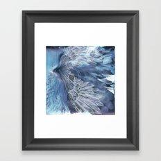 on wings Framed Art Print